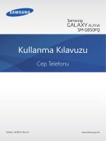 Samsung Galaxy Alpha Kullanım Kılavuzu - Epey