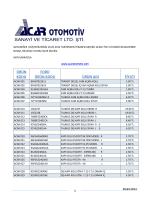 PDF İndir - Acar Otomotiv