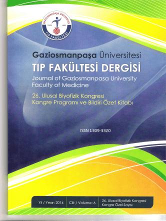 12 Eylül 2014 - Türk Biyofizik Derneği