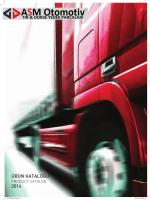 ASM 2014 Katalog (Türkçe - İngilizce)