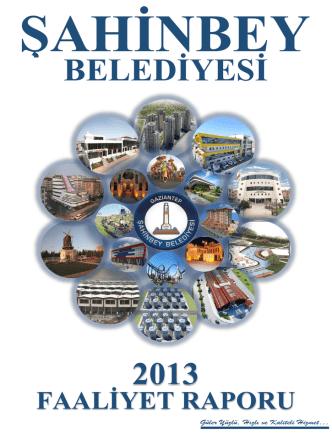 BELEDİYESİ 2013 - Şahinbey Belediyesi