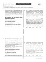 KPSS TG 1 Çözüm - Kısayol Yayıncılık