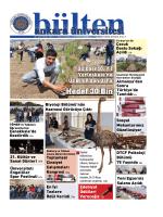 Hedef 30 Bin - Ankara Üniversitesi Bültenleri