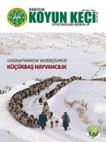 Ekim 2014 - Sayı 4 - Türkiye Damızlık Koyun Keçi Yetiştiricileri