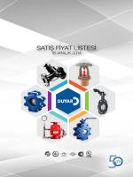 Duyar Vana Fiyat Listesi