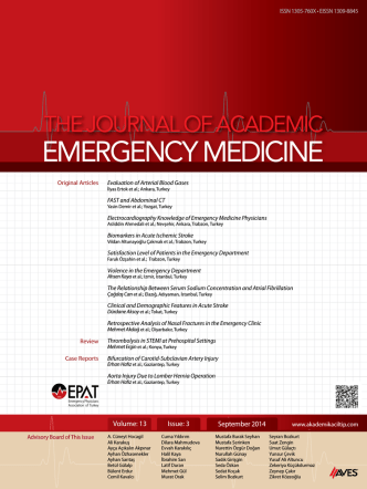 contents - Journal of Academic Emergency Medicine