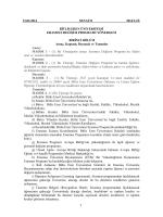 1 12.02.2014 SENATO 2014/2-IX BİTLİS EREN ÜNİVERSİTESİ