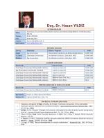 Doç. Dr. Hasan YILDIZ - Celal Bayar Üniversitesi