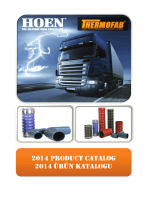 2014 product catalog 2014 ürün katalogu