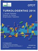 Turkologentag 2014 - Institut für den Nahen und Mittleren Osten