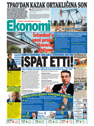 7 ağustos 2014 - Ekonomi Gazetesi