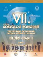 Cilt 3 [PDF] - Sosyoloji Derneği