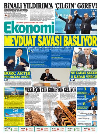 24 EKİM 2014 - Ekonomi Gazetesi