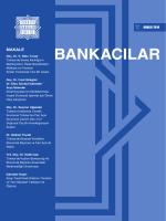 Bankacılar Dergisi - Türkiye Bankalar Birliği