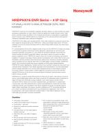 HRDPHX16 DVR Serisi – 4 IP Giriş