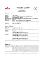 2014-2015 karate küçükler-yıldızlar grup müsabaka programı
