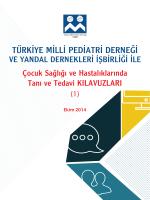 KILAVUZ 1: TMPD - Türkiye Milli Pediatri Derneği