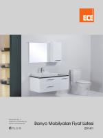 Banyo Mobilyaları Fiyat Listesi