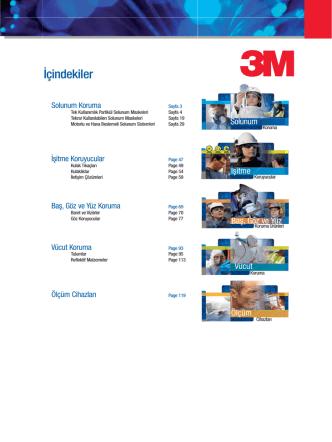 3M Genel İş Güvenliği Ürünleri Kataloğu