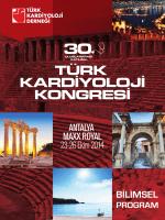 30. Uluslararası Katılımlı Türk Kardiyoloji Kongresi 13