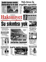 17 Temmuz 2014 Perşembe - Çorum Hakimiyet Gazetesi