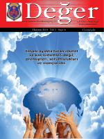 Değer Dergisi - Ceza ve Tevkifevleri Genel Müdürlüğü