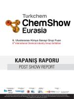 CHEMSHOW EURASIA 2014 KAPANIŞ RAPORU