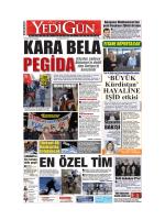 KARA BELA - Yedigün Gazetesi