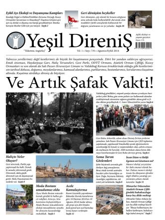 Ağustos/Eylül 2014 – Sayı