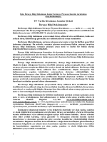 İhraççı Bilgi Dokümanı - Türkiye Finans Varlık Kiralama