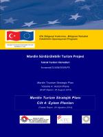 Taslak Rapor 4 - Mardin Sürdürülebilir Turizm Projesi