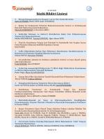 Sözlü Bildiri Listesi - 5. Fiziksel Kimya Kongresi