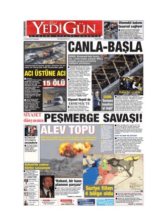 CANLA-BASLA - Yedigün Gazetesi