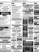 MUNHAL - Kıbrıs Gazetesi
