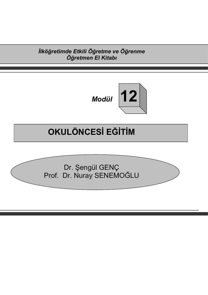 Okuloncesi Egitim