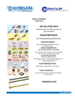 konsan flex fiyat listesi