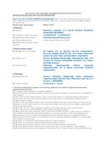 İhale Kayıt Numarası : 2015/476 a) Adresi