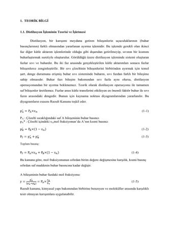 3. Distilasyon Deneyi