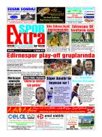 Edirnespor play-off gruplarında