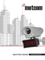 Metcom 2014 Fiyat Listesi