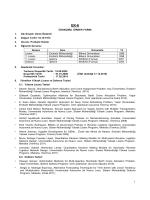 CV - Uluslararası Lojistik Yönetimi Bölümü