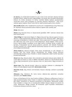 Coğrafi Terimler Sözlüğü