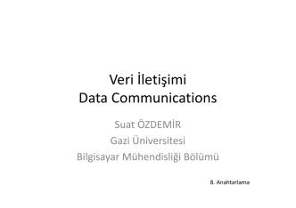 datagram ağlar ve virtual-circuit ağlar.