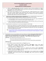 Eğitim Bilimleri Enstitüsü İlanı (05-16 Ocak 2015)