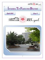 4. Sayı - İstanbul Tıp Fakültesi
