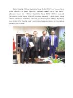 İçişleri Bakanlığı Mülkiye Başmüfettişi Recep Muhlis GÜR, Truva