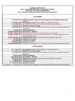Akademik Takvim - Harran Üniversitesi