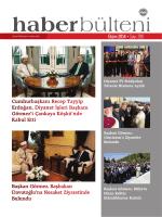 Haber Bülteni - Diyanet İşleri Başkanlığı