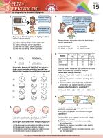 Test 15 - Fen Okulu
