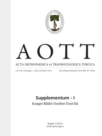 24. Ulusal Türk Ortopedi ve Travmatoloji Kongresi